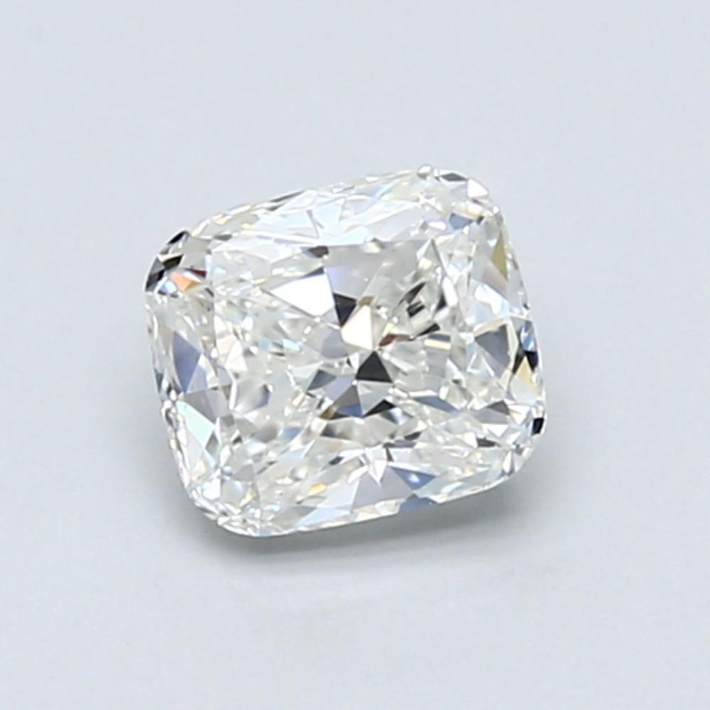 .90 carat Cushion Diamond, Very Good cut, graded by the GIA laboratories.