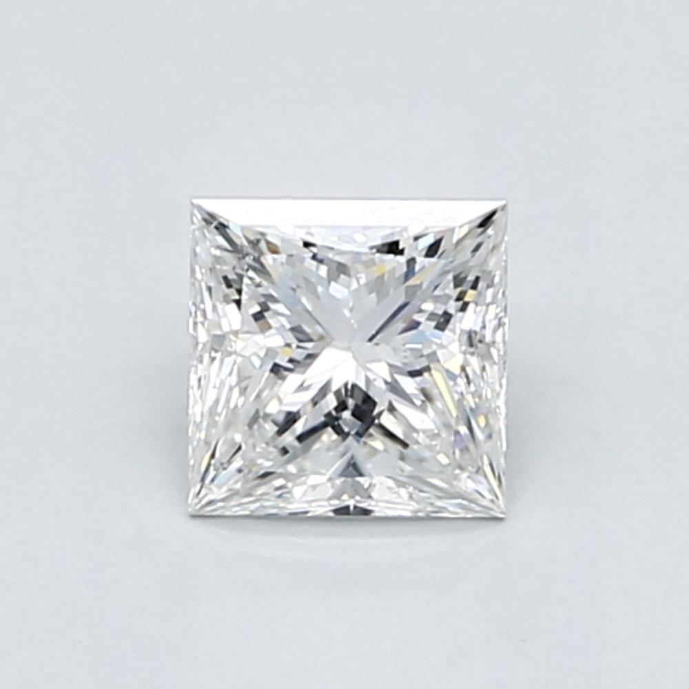 .82 carat Princess Diamond, Very Good cut, graded by the GIA laboratories.