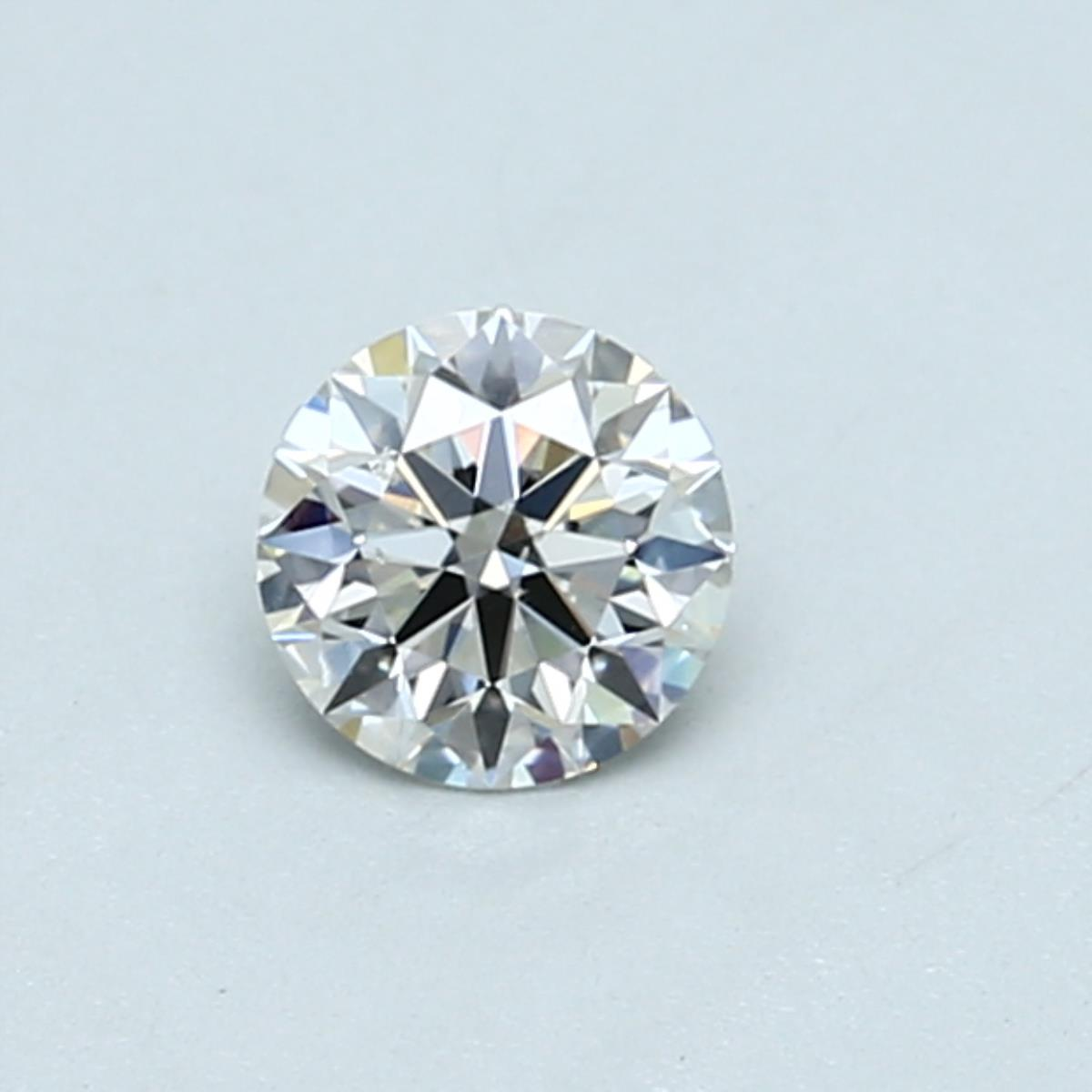 .40 carat Round Diamond, Ideal cut, graded by the GIA laboratories.