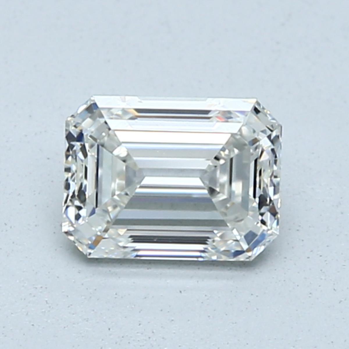 0.90-Carat Emerald Cut Diamond