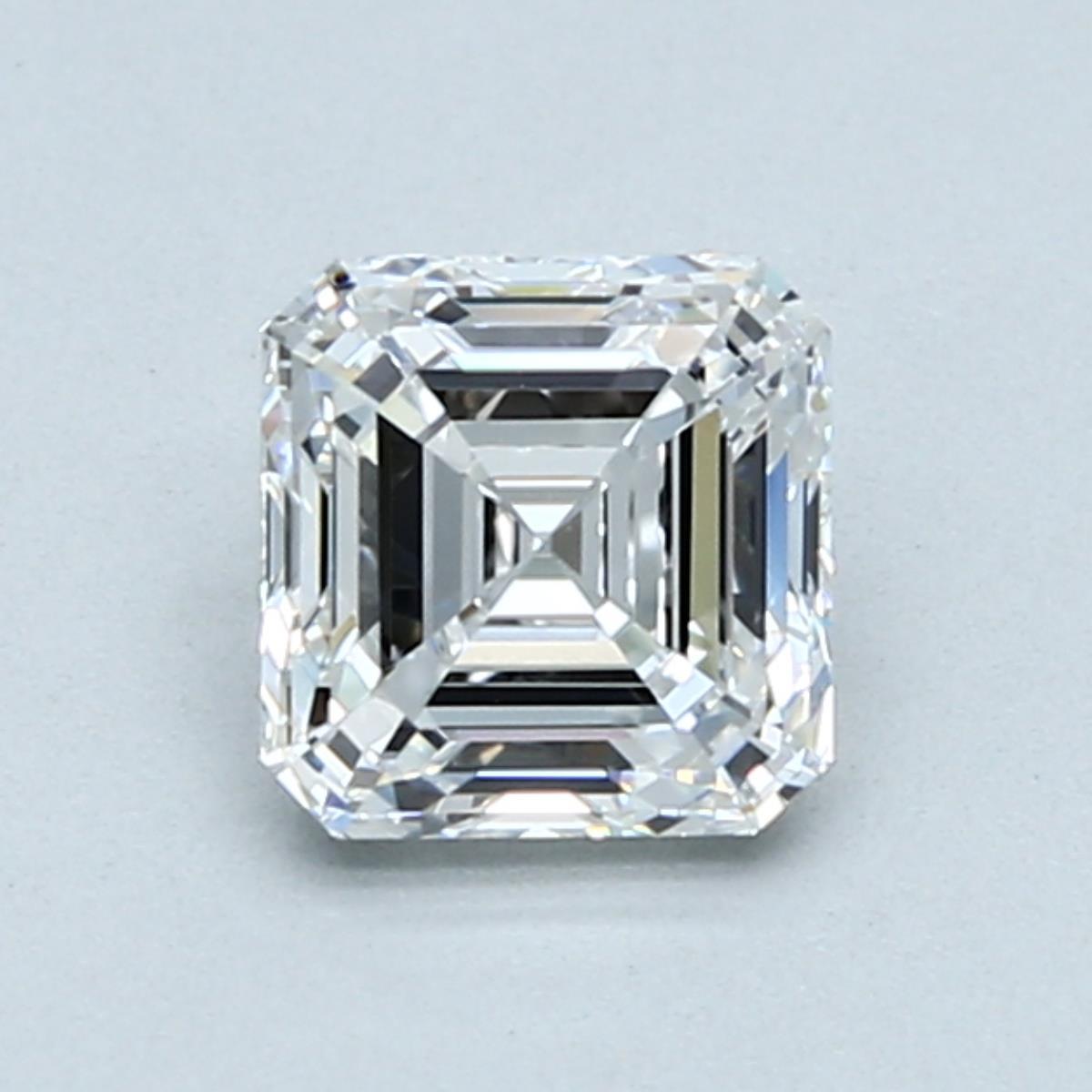 1.01-Carat Asscher Cut Diamond