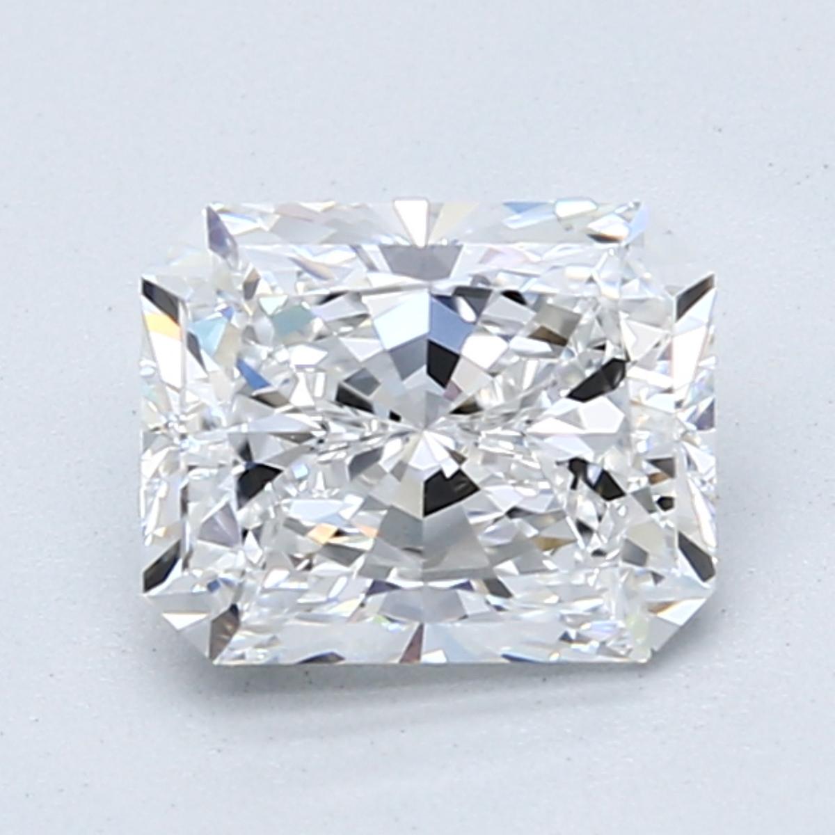 1.60-Carat Radiant-Cut Ring in Platinum