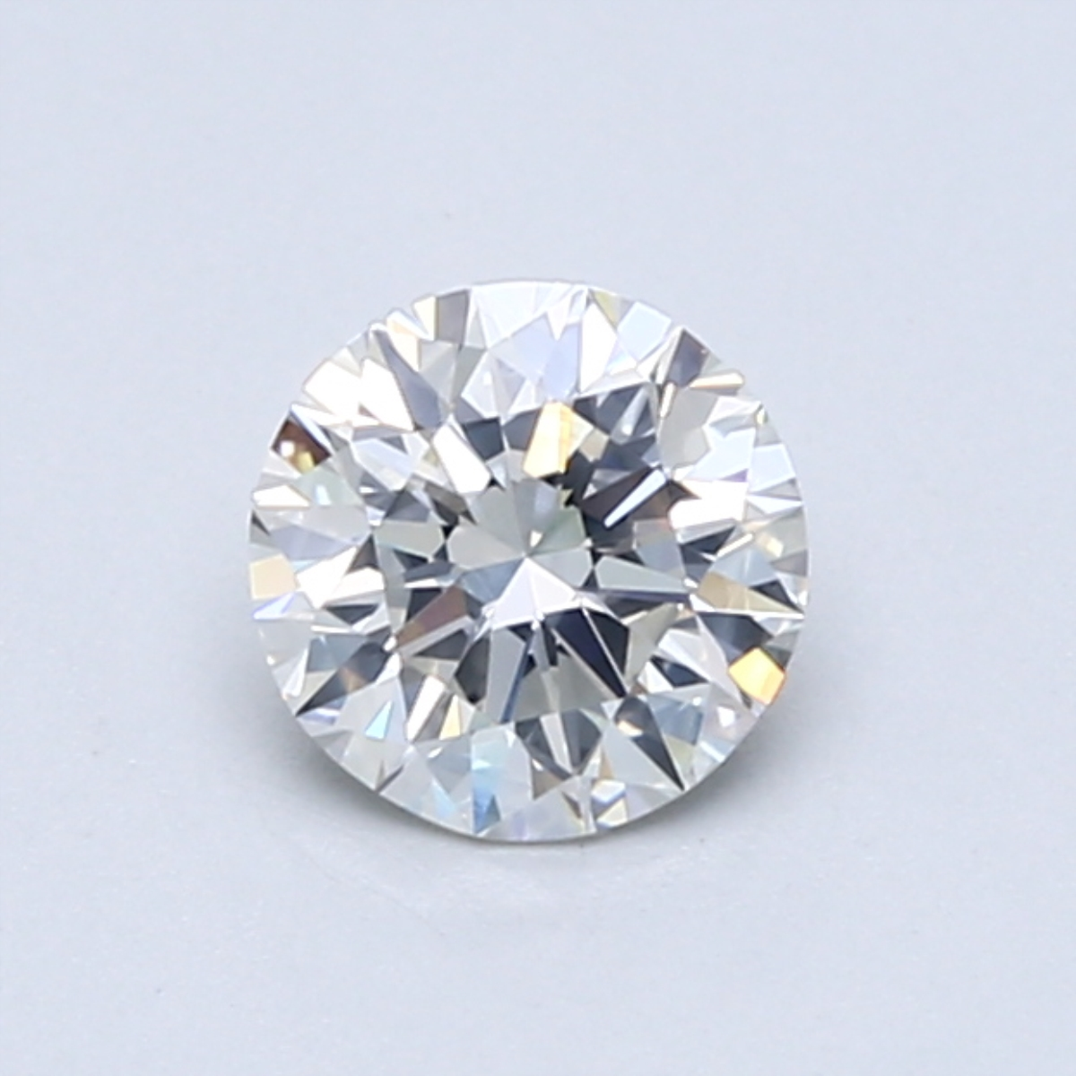 .70 carat Round Diamond, Ideal cut, graded by the GIA laboratories.