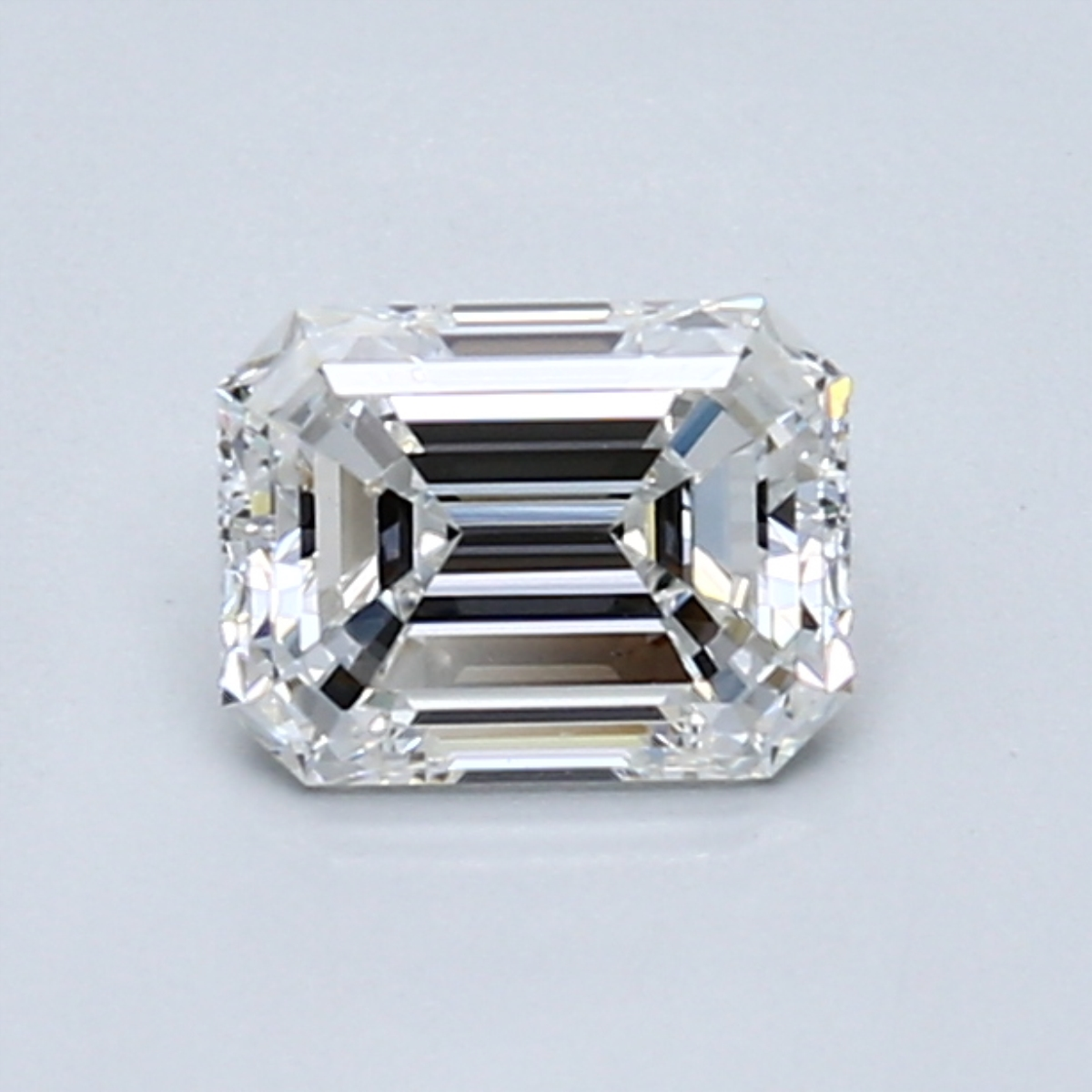 .80 carat Emerald Diamond, Very Good cut, graded by the GIA laboratories.