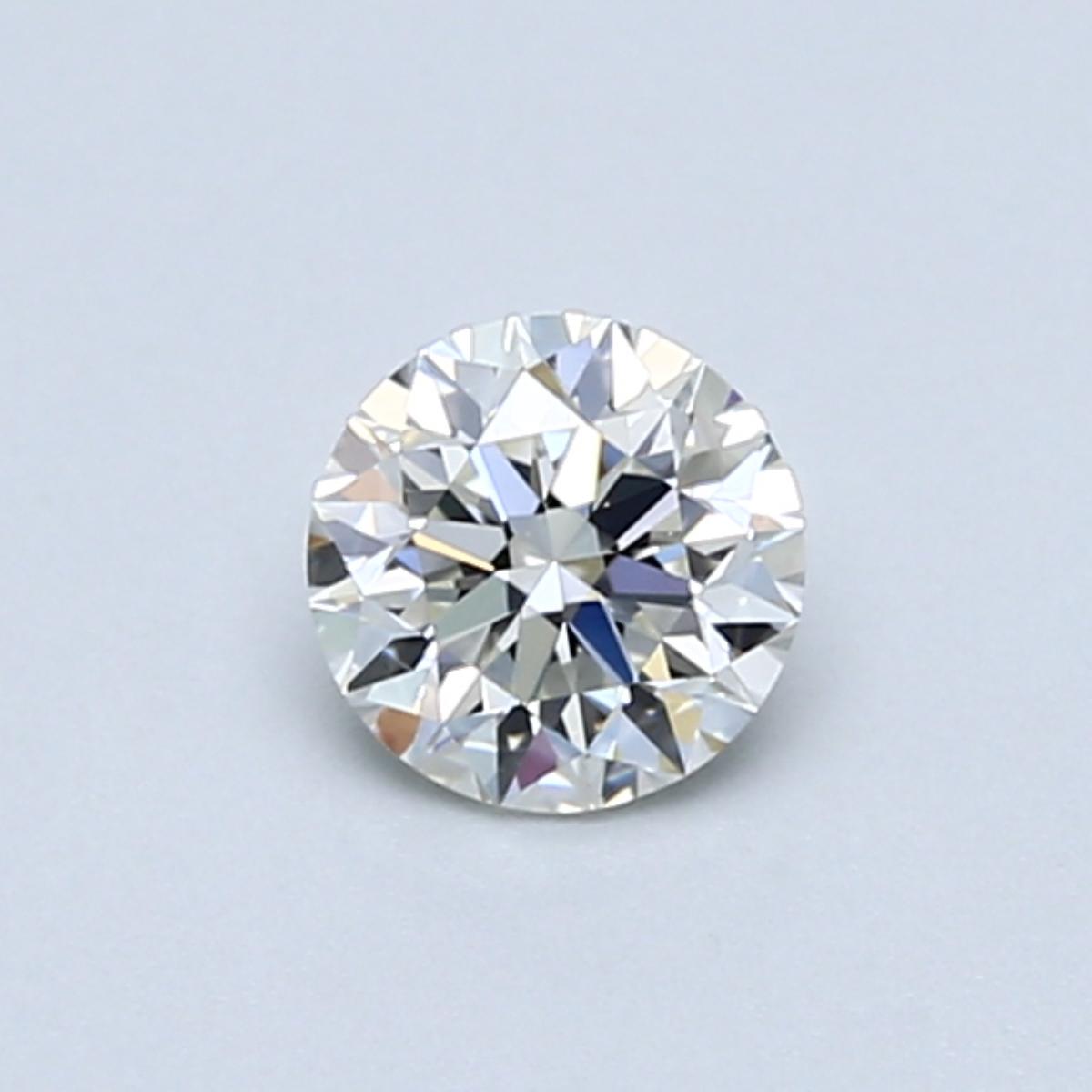 .50 carat Round Diamond, Very Good cut, graded by the GIA laboratories.