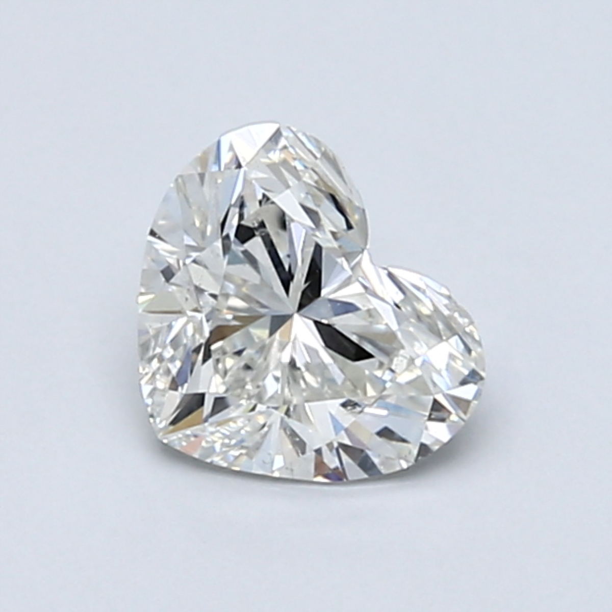 0.90-Carat Heart Shaped Diamond by Blue Nile
