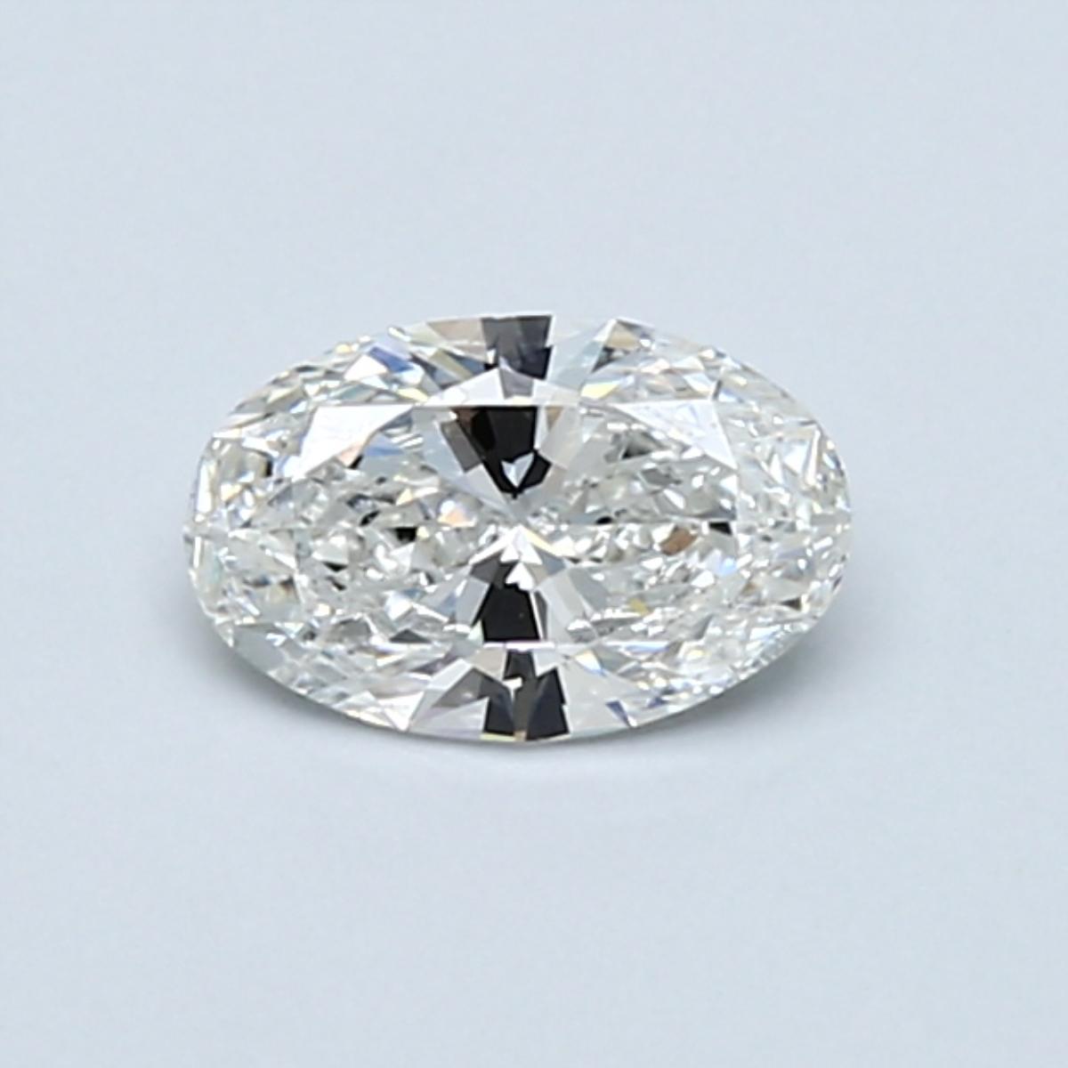 0.50-Carat Oval Cut Diamond