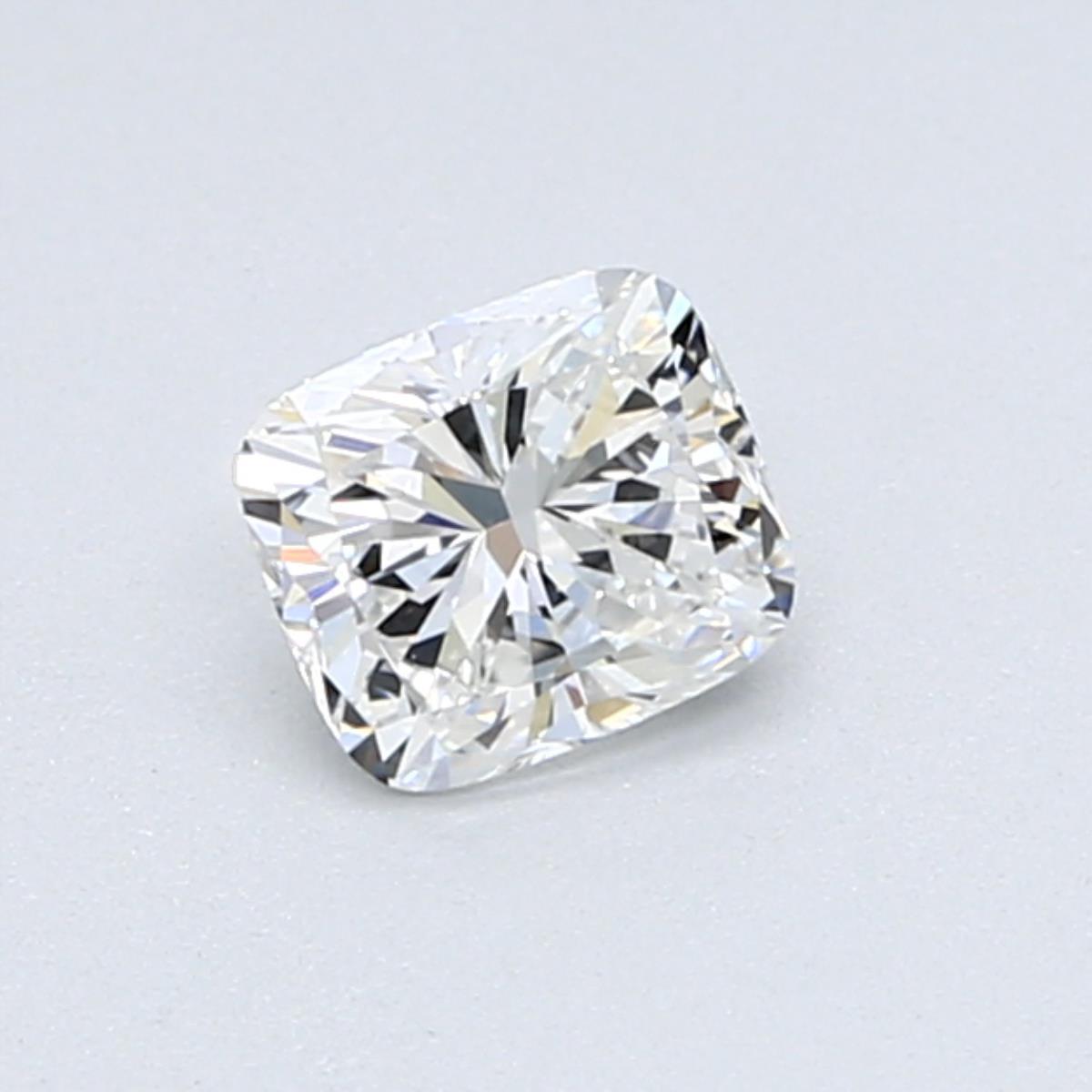 0.51-Carat Cushion Cut Diamond